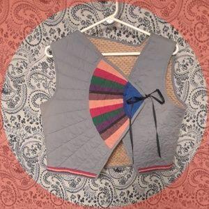 Tops - VINTAGE Multi Color Upcycled Vest